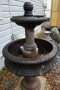 2 Tier Rustic Fountain