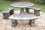 3 Bench Picnic Table Set