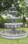 4 TIER LARGE ROMAN ITALIAN FOUNTAIN WITH LARGE POOL BOWL WITH FO