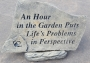 Hour in the Garden Stone