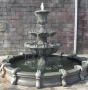 Lg. Coping Circle Corinthian Fountain