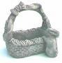 Lg. Rect. Bunny Basket