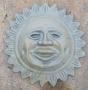 Lg. Sun Face Plaque