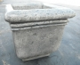 Md. Square Rustic Planter