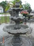 Med Roman Fountain 3 Tier w/ Italian Ped