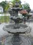 Med Roman Fountain 3 Tier w/ Italian Ped
