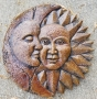 Moon and Sun Plaque