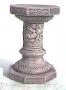 Octagon Cherub Pedestal