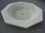 Octagon Fountain Bowl