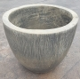 Round Etched Pot