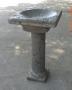 Square Garden Birdbath